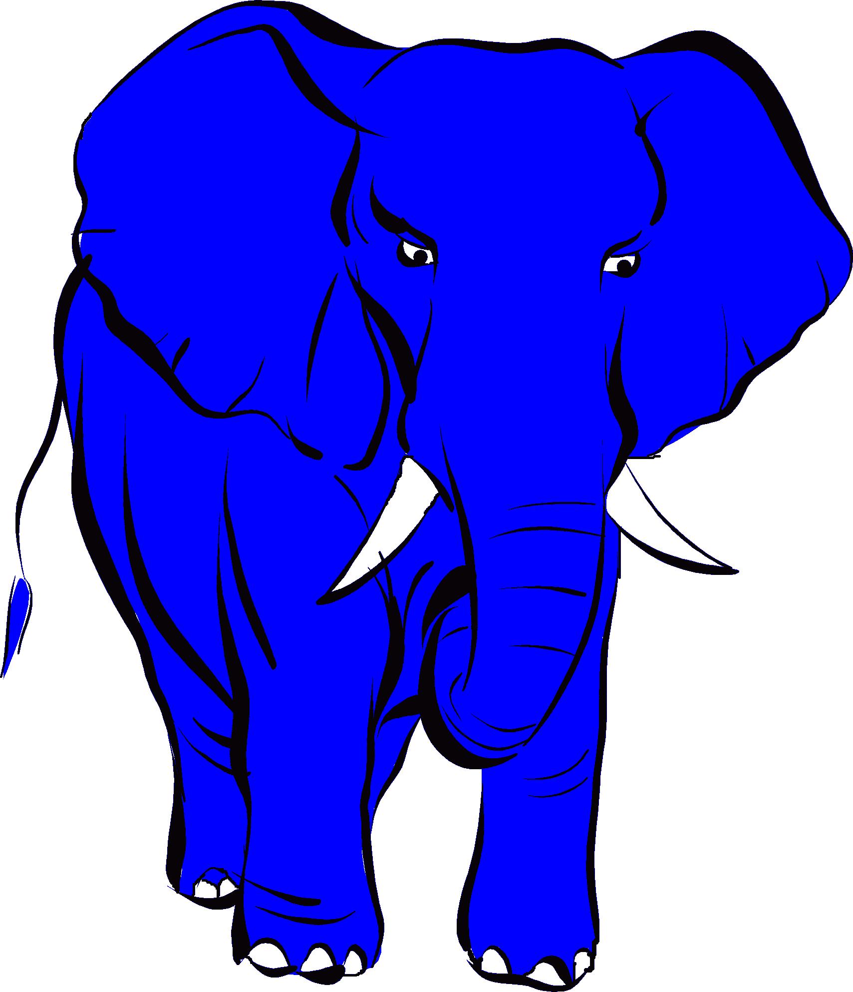 Blue Elefant Logo Full SIze